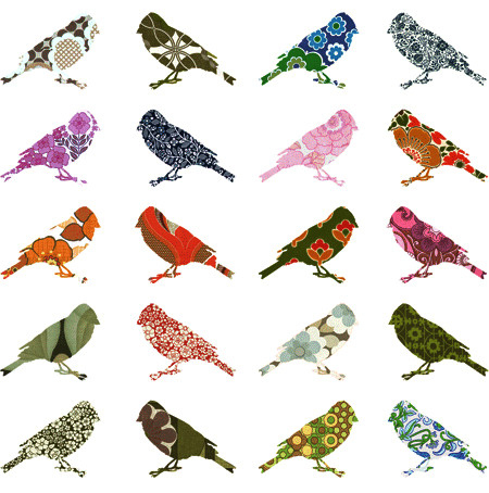bird, birds, design, illustration, pattern, patterns