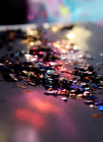 colorful, colors, confetti, glitter, out of focus