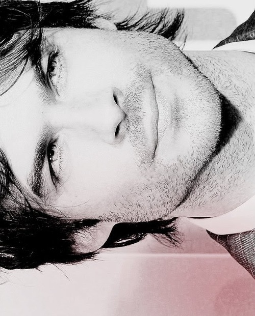 black and white, boy, damon, delicia, hot, ian somerhalder