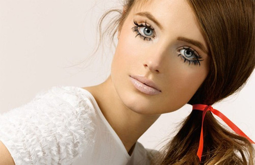 beauty, eyes, face and girl