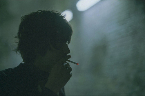 boy, cigarette, cigarrets, cute, detlev, hair, photography, skinny, smoke, smoking, thin