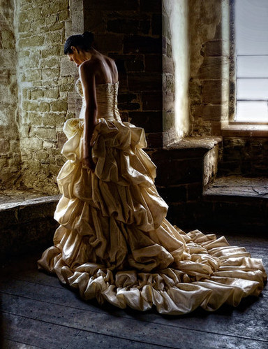 back, building, deviant, dress, fashion, gown