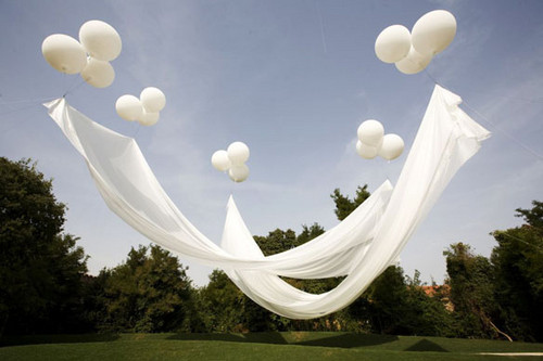 Air architecture art ballon balloon balloons image 30538 on - Decoration mariage ballon ...