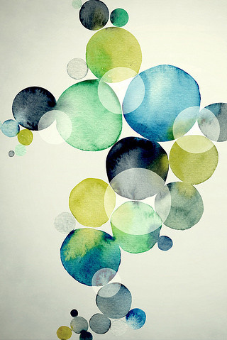 abstract, abstract art, art, artwork, background, ball, ballons, blue, bubble, bubbles, circle, circles, color, colour, design, dots, graphic, graphic design, green, illustration, ink, inspiration, ipod, pattern, poster, scrapbooking, screen