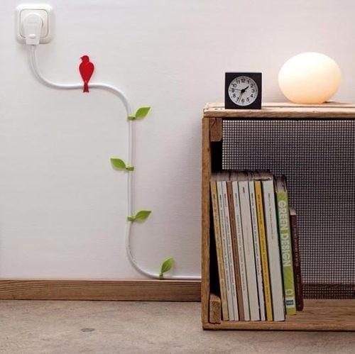 cables, deco, design, electricity, ideas, interior
