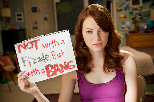 cute, easy a, emma stone, funny, movie, nett
