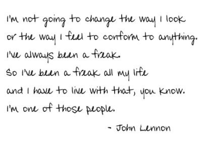 123, freak, freakjohnlennon, inspiration, john lennon, lennon, life, quotasss, quote, quotes, text, wisdom, words
