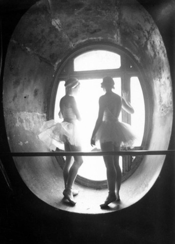 art, black and white, dance, hope, light, paris, people, photo, puzzle, rebus, tunnel, vintage, window, women