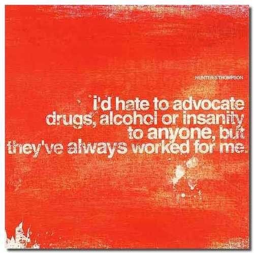 Alcohol Design Drugs Funny Graphic Insanity Image