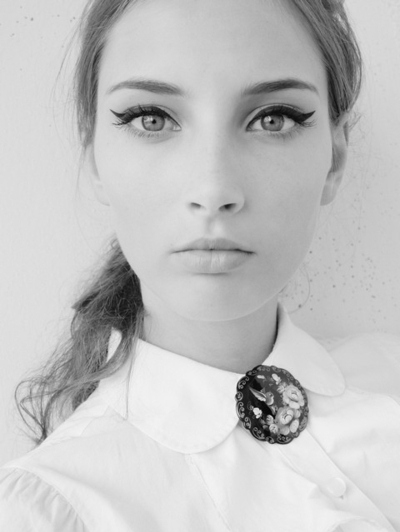 cat eye , eyeliner, eyeshadow, mascara, model, pretty