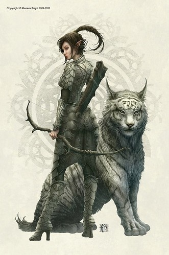 animals, anime, art, fantasy, fantasy art, female