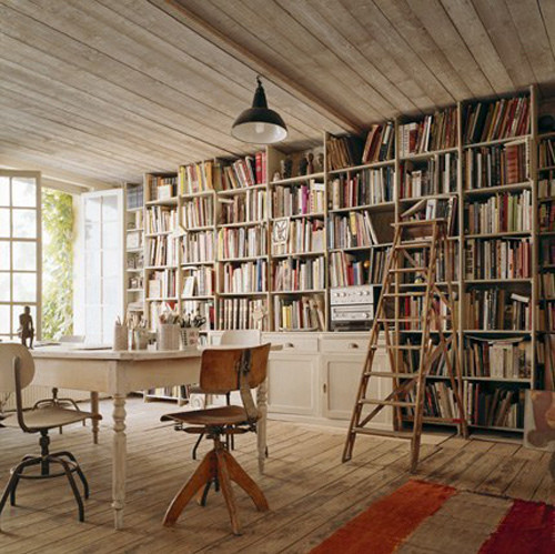 bolig, book, bookcase, books, bookshelf, chairs