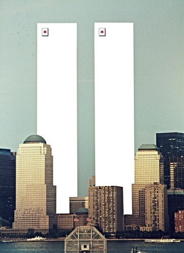 broken image, broken lives, broken towers, concept, creative, ffffound, fun, google cache, idea, image not found, montage, photo, photography, photoshop, sad, twin towers, usa, wtc