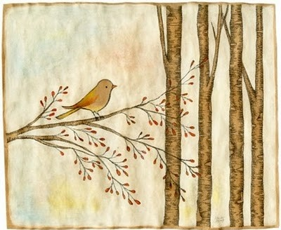 art, bird, birds, cute, drawing, illustration