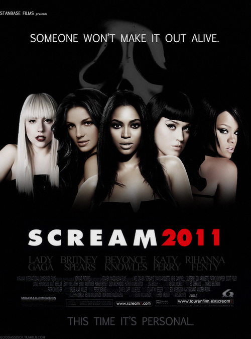beyonce, britney spears, katy perry, lady gaga, movie, rihanna