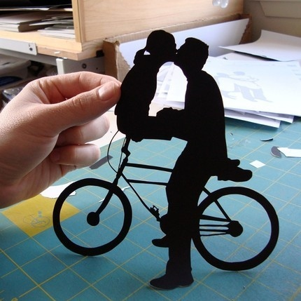 bicycle, bicycles, bike, couple, couple love kiss, crafty