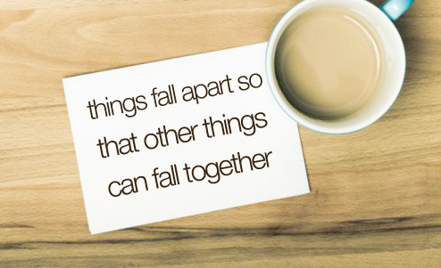 146, coffee, cup, everything happens for a reason, fall apart, fall together