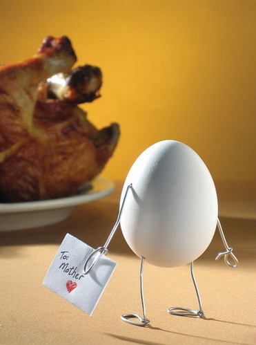 christmas, creative, egg, foto, fried chicken, fun