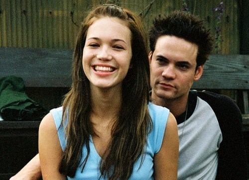 a walk to remember, boy, couple, girl, hush hush patch, mandy moore, movie, nicholas sparks, shane west