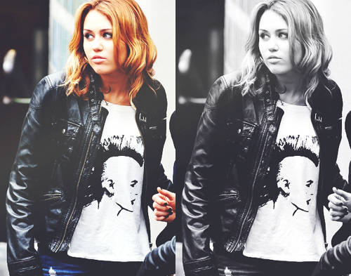 beautiful, black and white, cute, cyrus, diva, fashion