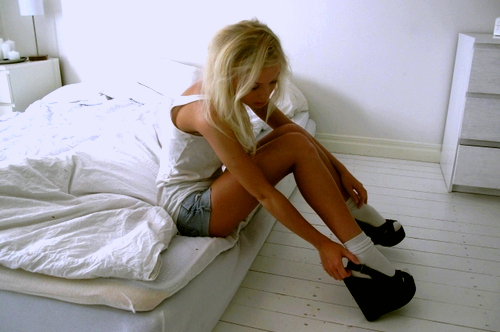 blonde, legs, shoes, skinny, tanned