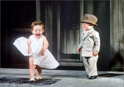 Cute Dresses Baby Girls on Cute Baby Girl And Boy