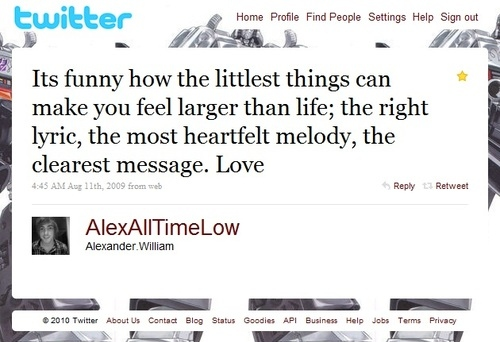 alex gaskarth, all time low, heartfelt, love, lyric, melody, message, quote, text, things, twitter, words