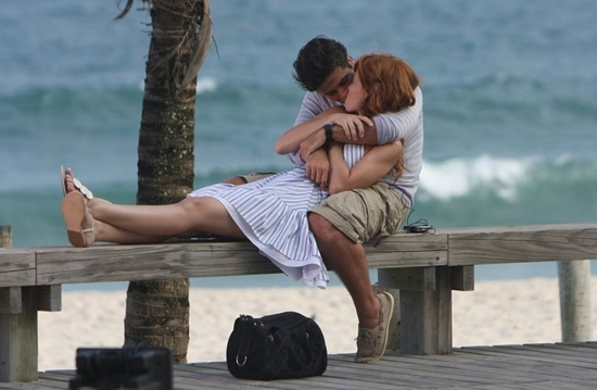 beach, comooooooomassin, couple, cute couple, kiss, summer