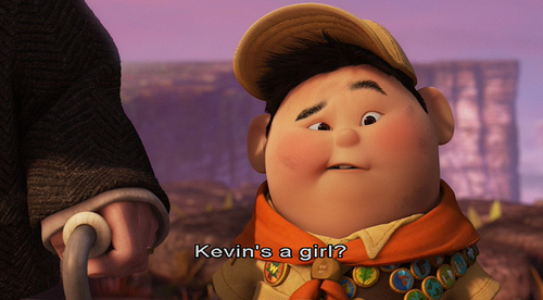 cartoon, cute, disney, kevin, laugh, movie