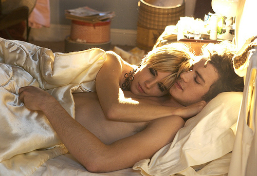 colorful, couple, cute, hayden christensen, italy, sex, sienna miller