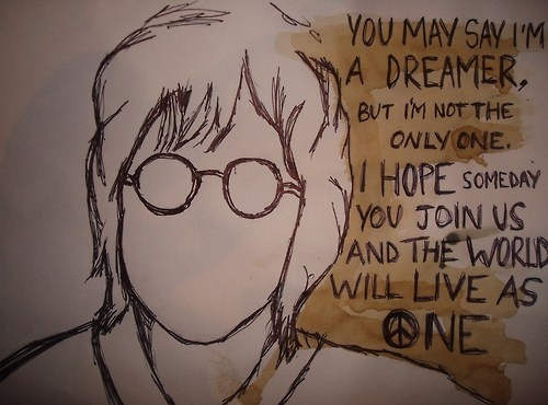 awesome, imagine, jhon lennon, john lennon, music