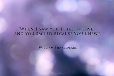 love, shakespeare, smile, typography, william shakespeare