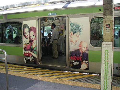 japan, manga, metro, nana, style, subway