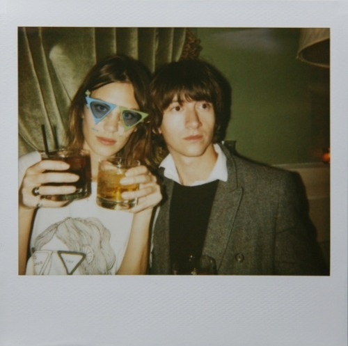 alex turner, alex turner polaroid, alexa chung, alexa chung polaroid, celebrities polaroid