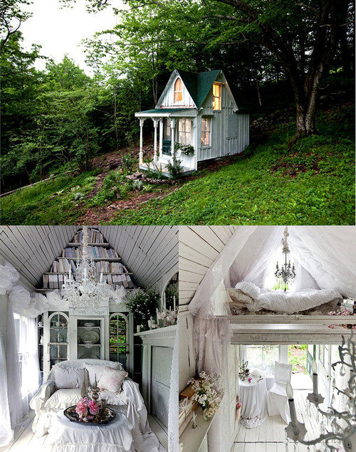 attic, bed, bedroom, cottage, couch, cute, desingn interior design, dream, dream bedroom, dream home, dream house, dreamy, dreamy vintage, forest, green, home, house, interior, life, lights, love, pretty, pure, room, tassj, tree, tree house, trees, white