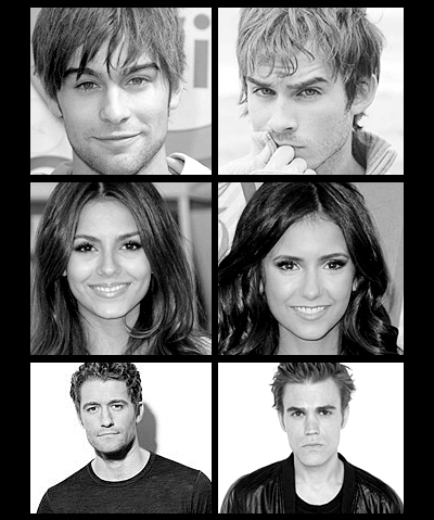 chace crawford, chase crawford, glee, gossip girl, ian somerhalder, look alike