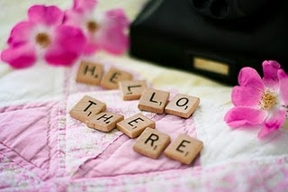 hello, love, pink, scrabble, text, there