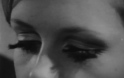 60s, black and white, eyes, face, mascara, nose, retro, twiggy, vintage
