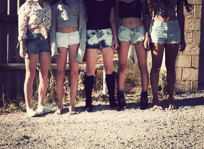 belly, belly button, denim shorts, girls , legs, short shorts