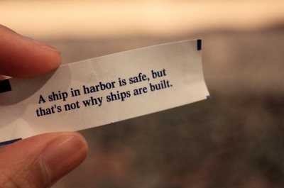 fortune, hand, happy, inspired, inspiring, motivational, moving, quotation, quote, sea, ship