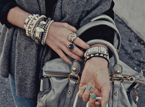 art, bag, beautiful, black, black and white, blue, bracelet, cute, dress, fashion, girl, jeans, model, nail, photo, photography, pretty, ring, rings, woman