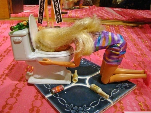 babie ken, barbie, barbie funny, drunk, wasted