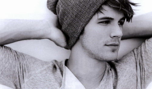 beanie, black and white, celeb, celebrity, gray, hot, liam, matt lanter, sexy