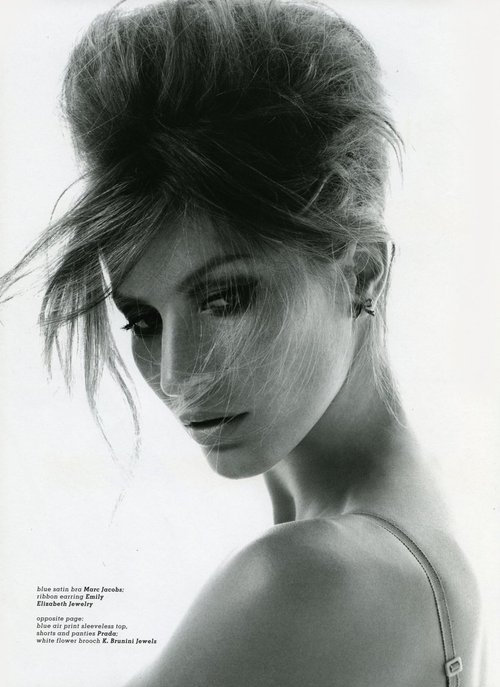 black and white, brasil, fashion, gisele bundchen, gorgeous, hair