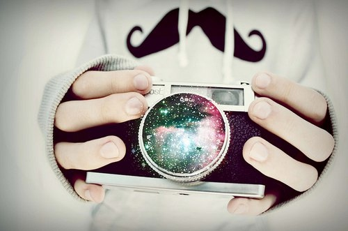 amazing, beautiful, blue, camera, clouds, colour, fashion, galaxy, lens, mist, moustache, night, night sky, omg, pink, pretty, purple, stars, velvet, want, wow