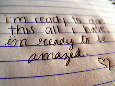 amazed, cute, love, mayday parade, paper, pen