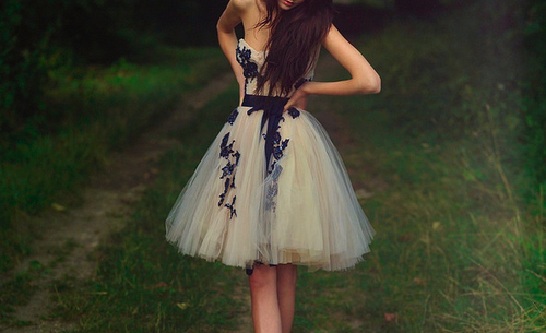 black lining, dress, fashion, girl, legs, pretty
