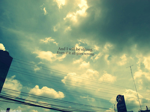always remember, clouds, life, live, quote, sky