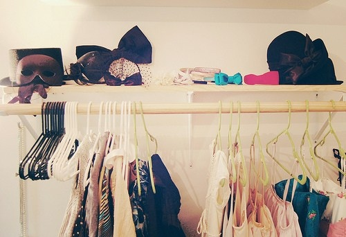 bow, closet, clothes, cute, dresses, hair, pretty, rack