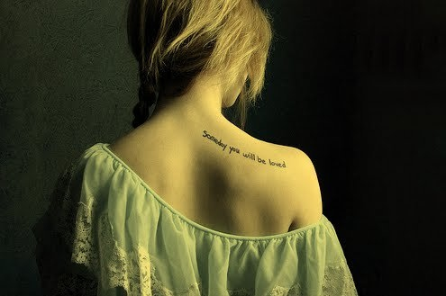Shoulder Blade Tattoo Tumblr